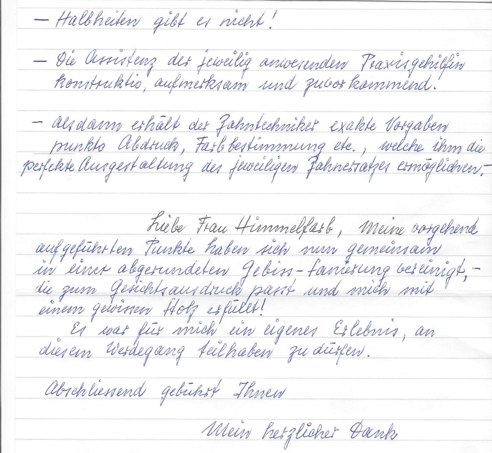 Patient Testimonials - zahnarzt-luzern-zahnklinik.ch